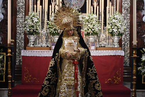 Besamano de la Virgen del Mayor Dolor de Vera-Cruz