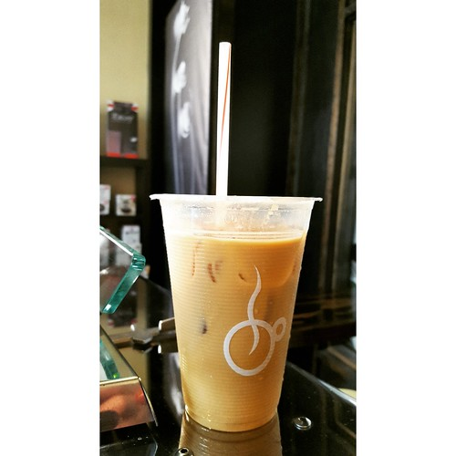 a yummy iced latte
