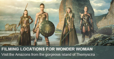 Wonder Woman Filming Locations