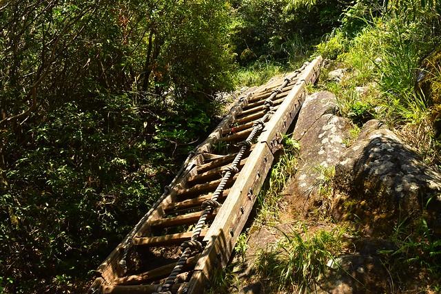 開聞岳 山頂直下の階段