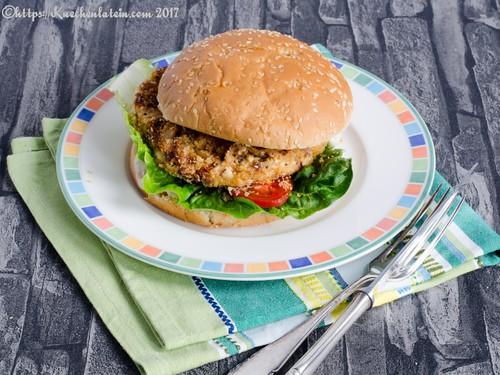 Bohnen-Cashew-Burger