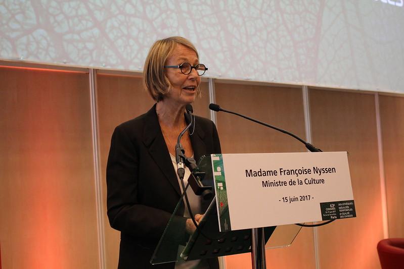 Françoise Nyssen au Congrès ABF 2017