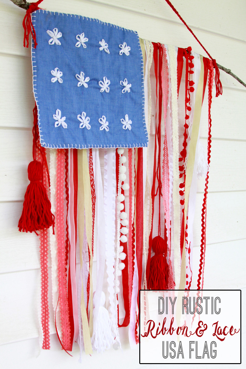 DIY-Rustic-Ribbon-and-Lace-USA-Flag