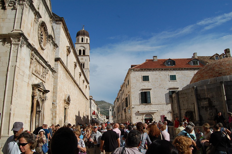 Free parking in Dubrovnik