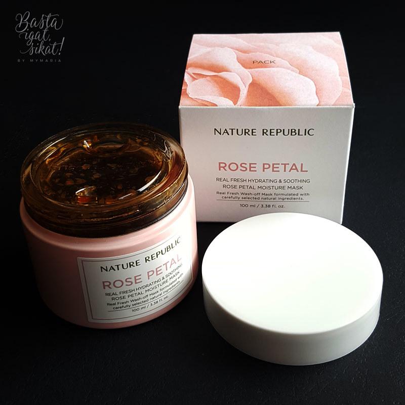 Nature Republic: Real Fresh Rose Petal Moisture Mask