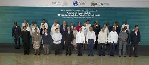 Official Photo of the 47th OAS General Assembly