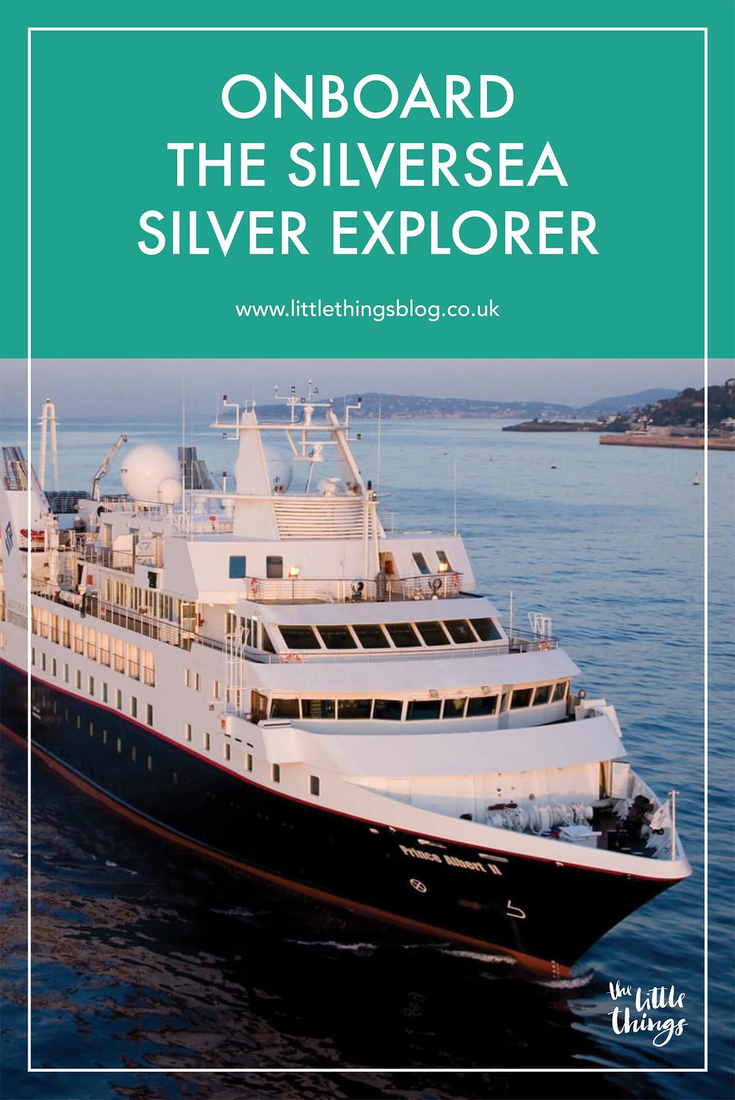 onboard the Silversea Silver Explorer cruise ship travel blogger UK