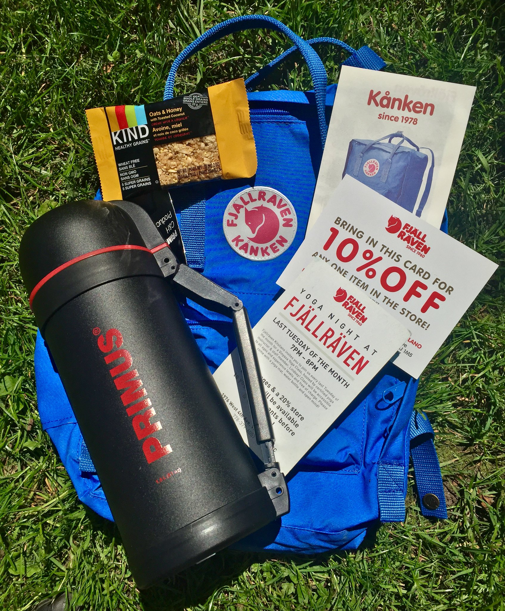 Trails & Ales: Fjallraven Survival Kit