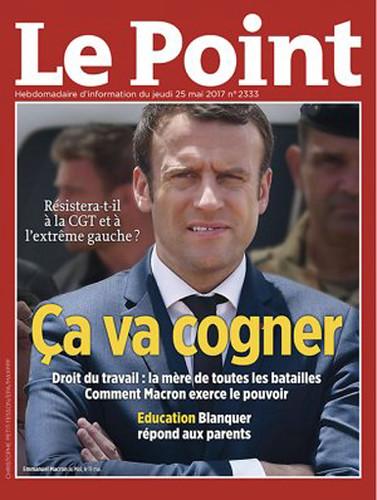 17e24 Le Point, 24 mayo 2017, nº 2333. Droit du travail- ça va cogner