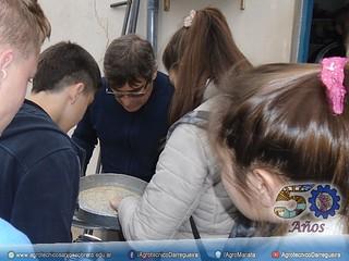 Clase práctica de Cereales en cooperativa Agropecuaria Darregueira