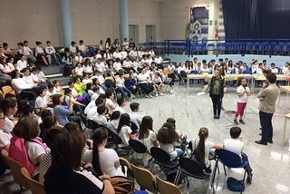 Noicattaro. Evento legalità scuola Pende front