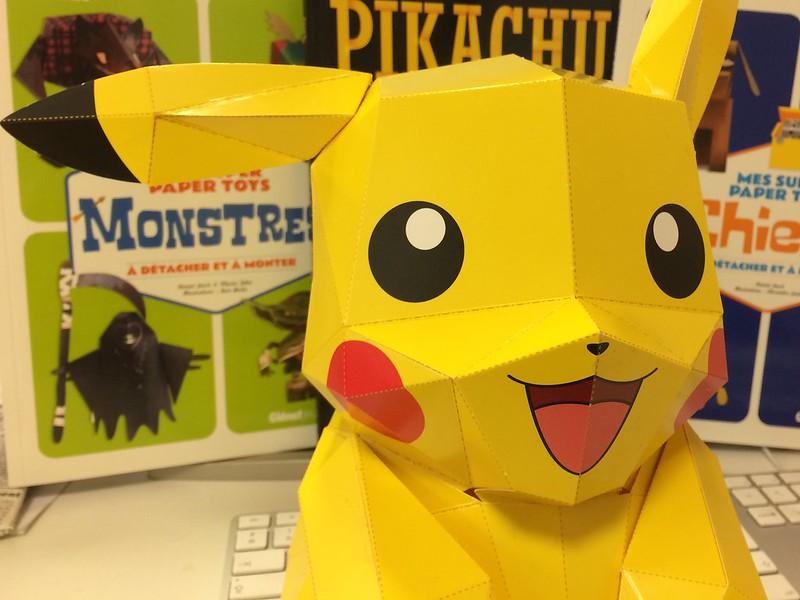 Pikachu en papier - 404 Éditions