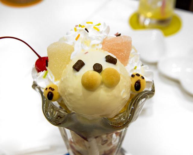 Osito de vainilla que nos sirvieron en el Maid Cafe de Japón