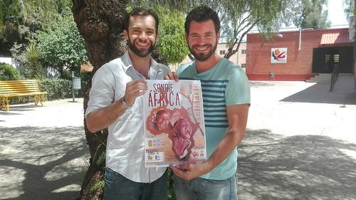 Impulsores del proyecto solidario Sonríe X África