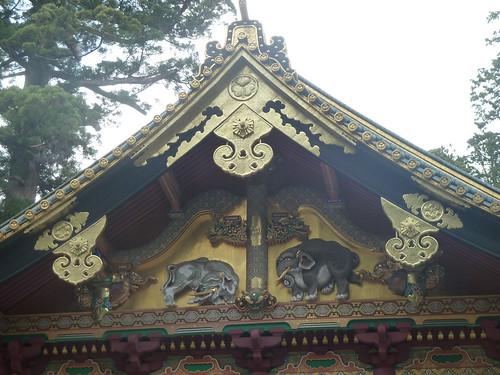 日光東照宮 想像の象