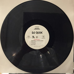 DJ QUIK:TROUBLE(RECORD SIDE-A)
