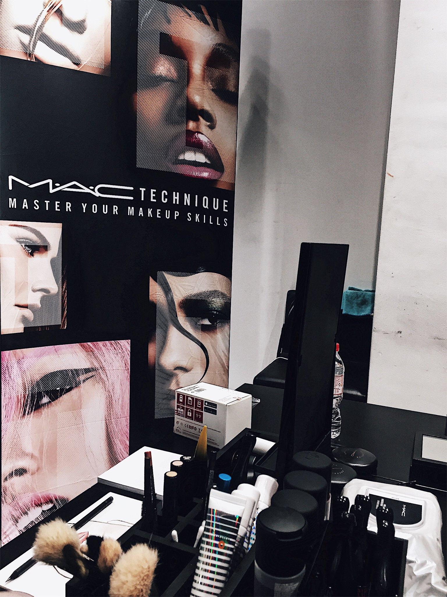 m.a.c tecnique barcelona