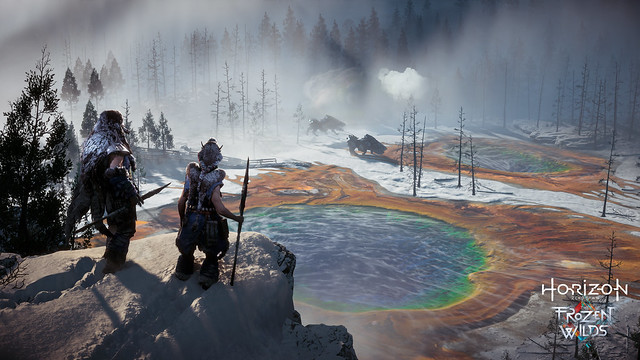 Horizon Zero Dawn The Frozen Wilds screen