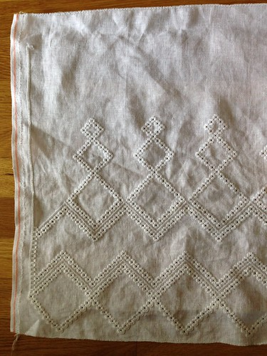 hardanger curtain