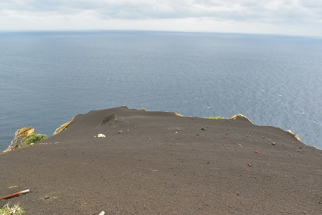 八丈島・黒砂砂丘