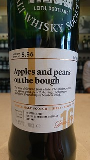 SMWS 5.56 - Apples and pears on the bough