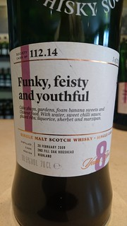 SMWS 112.14 - Funky, feisty and youthful