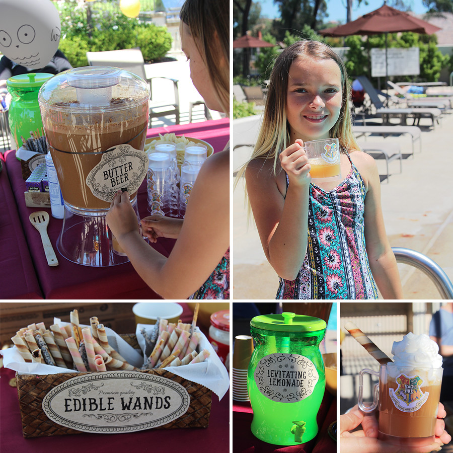 Harry-Potter-Birthday-Pool-Party-butter-beer