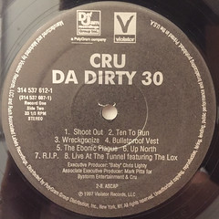 CRU:DA DIRTY 30(LABEL SIDE-B)