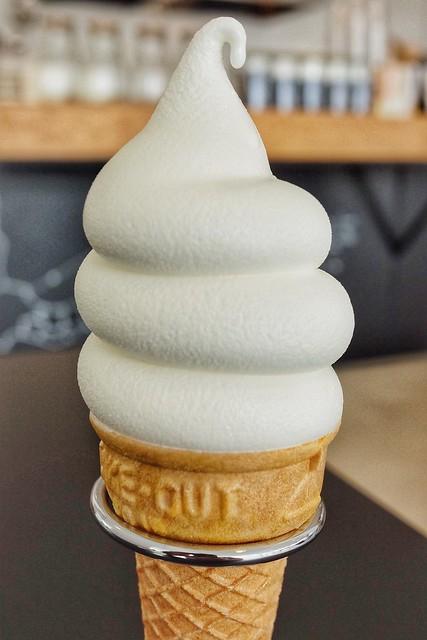 キタノスミスコーヒー 東毛酪農クリームラインミルクソフト