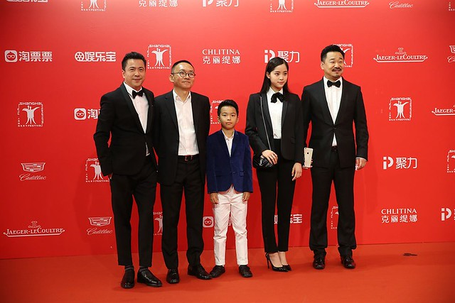 Beautiful Accident Cast with director Ho Wi-Ding