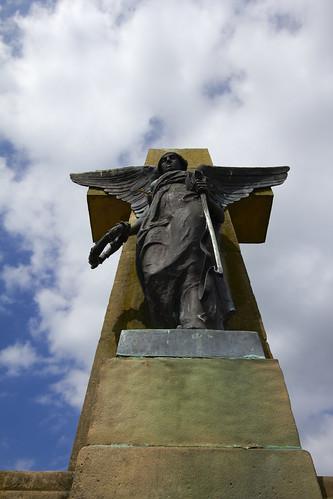 Dalry public park war memorial 5