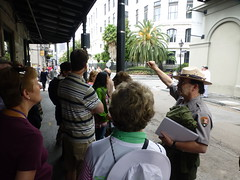 On a free tour with NPS in New Orleans