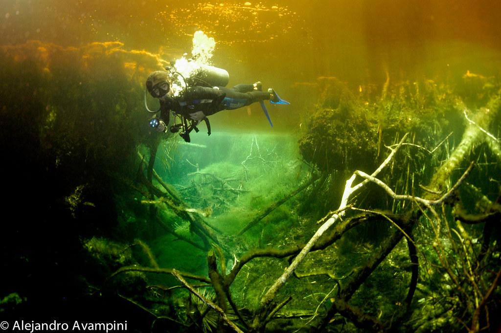 """Cenote """"El Eden"""" Riviera Maya Tulum Mexico"""
