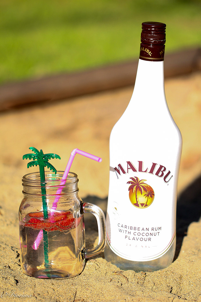 rum, cocktail, sand, summer
