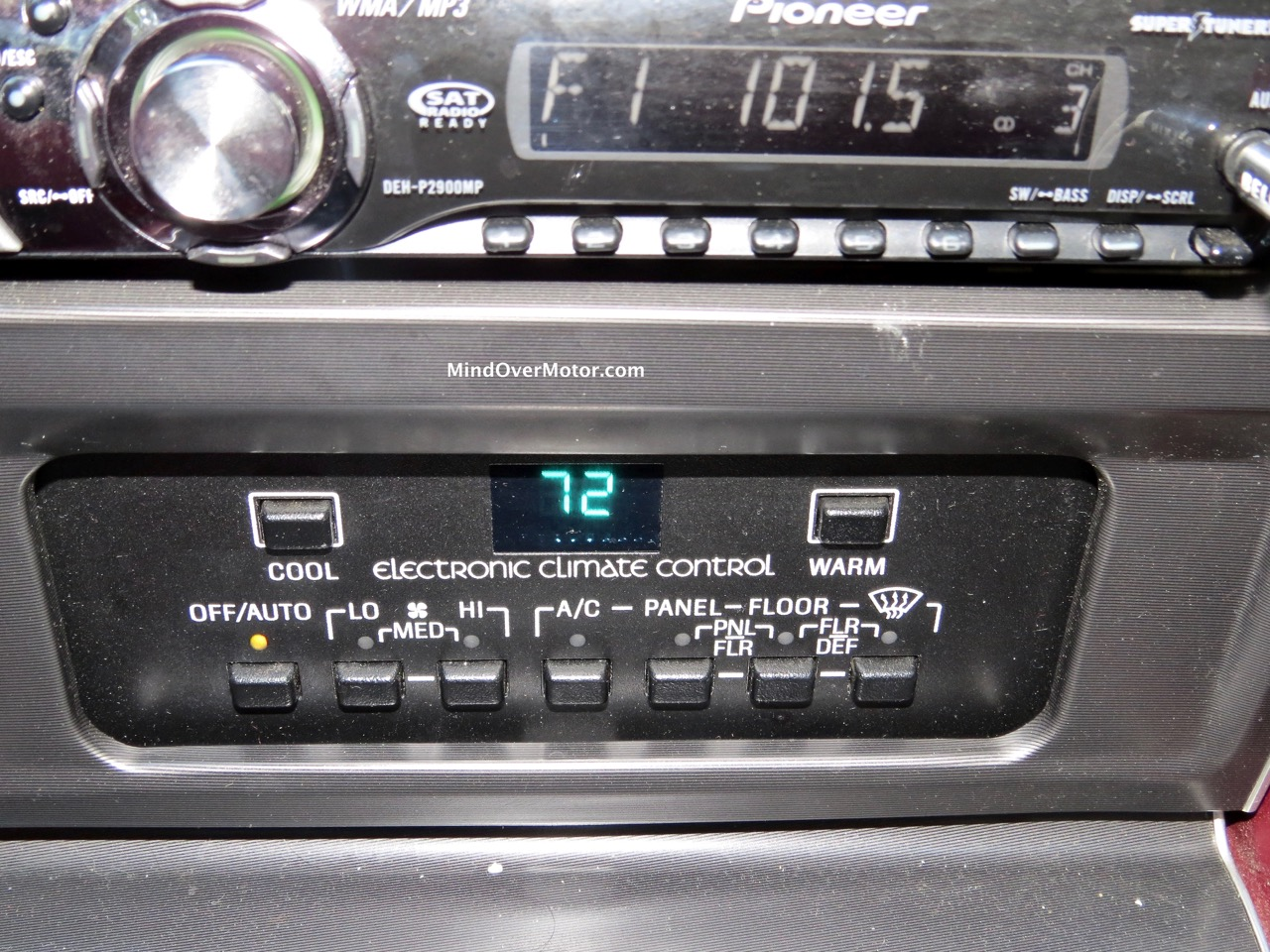 Lincoln Mark VII Automatic Climate Control