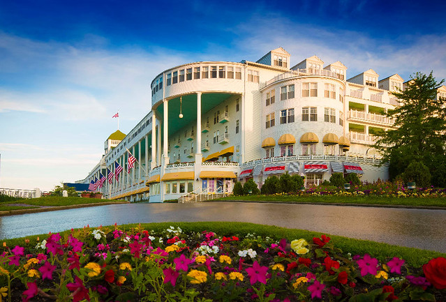 The Grand Hotel. From Michigan's Small Town Treasures: Mackinac Island