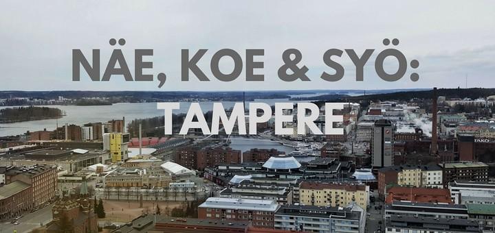Näe koe syö Tampere