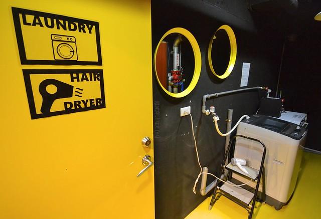 ximen corner hostel laundry facility