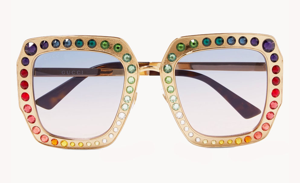 60 Pairs of Cooler-Than-Average Statement Sunglasses: Gucci