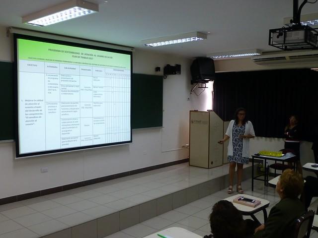 La Facultad de Obstetricia y Enfermería realizó la presentación del programa de  Sostenibilidad para  el presente  año