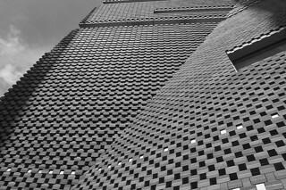 London - Tate Modern facade texture