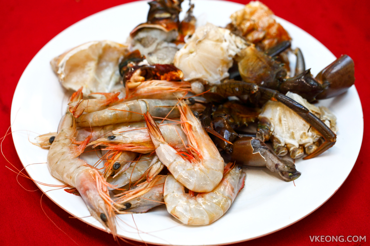 Fat One Steamboat Buffet Prawns Crabs