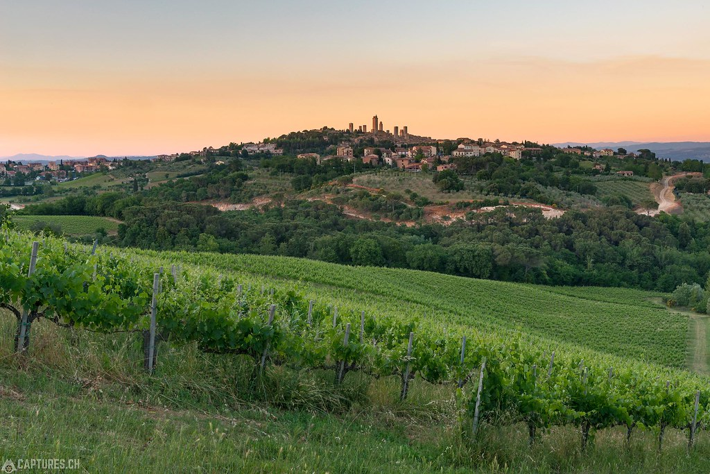 Sunset - San Gimignano