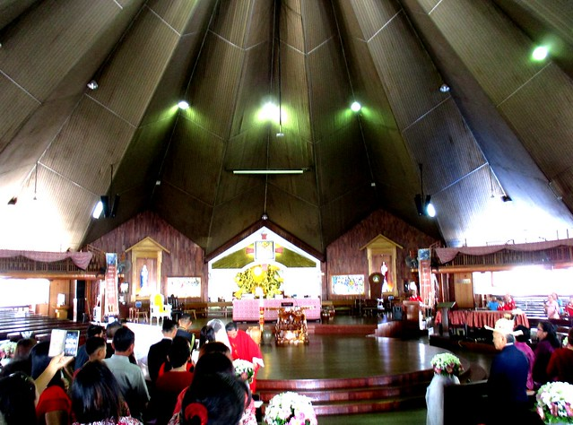 Wedding mass at the Sacred Heart Cathedral Sibu