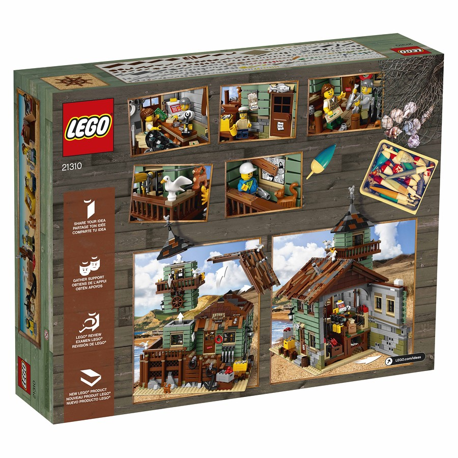 LEGO Ideas 21310 - Old Fishing Store
