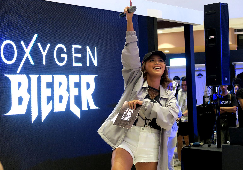 4.1 OxygenXBieber Collection Launch - She Sings Beauty by Gen-zel - Joyce Pring
