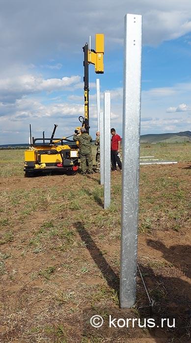 ORTECO работает на монтаже солнечной электростанции в республике Бурятия