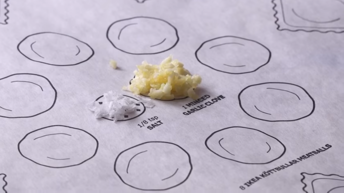 IKEA is back with Another Genius Concept; The cooking Paper