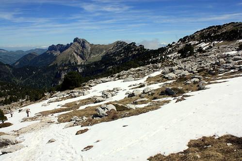 Plateau sous le sommet