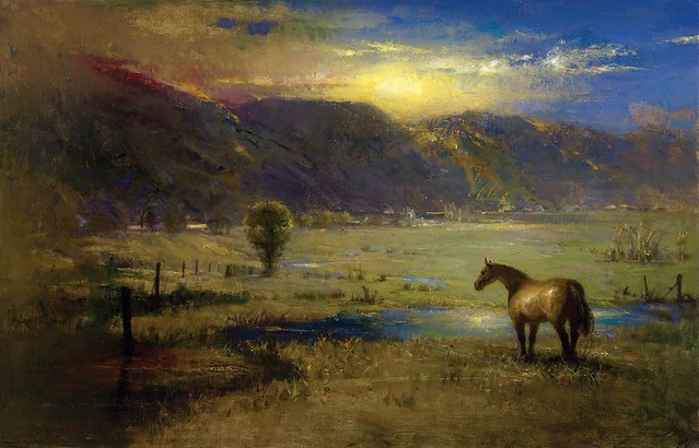 David A Leffel Dusk in Des Montes